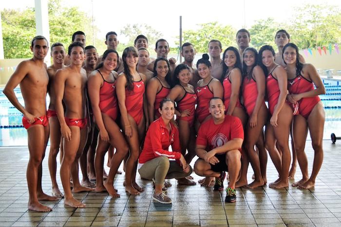 Las Jerezanas y las Gallitos de la Universidad de Puerto Rico de Rio Piedras ganan por primera vez ambas ramas en la natacion de piscina corta de la LAI. (Zacha Acosta)