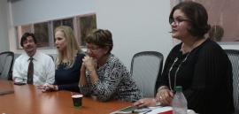 Empleados de la oficina de Asuntos Académicos de la UPR. (Glorimar Velázquez/ Diálogo)