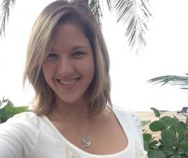 Carola Rodríguez, presidenta del CGE de la UPR Carolina. (Facebook)