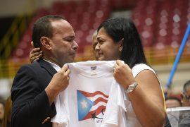 Clarisa López en conferencia de prensa. (Ricardo Alcaraz/ Diálogo)