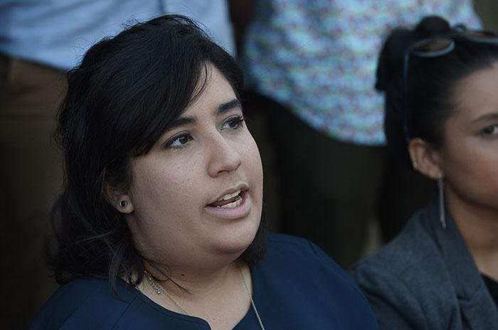 Wilmarí de Jesus Álvarez, presidenta del CGE del Recinto de Río Piedras. (Ricardo Alcaraz / Diálogo)