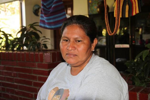 Francisca Ramírez, la coordinadora del movimiento campesino que lidera la lucha contra la construcción de un canal interoceánico en Nicaragua, lo que la ha convertido en víctima del acoso del gobierno del presidente Daniel Ortega. Crédito: Luis Martínez/IPS