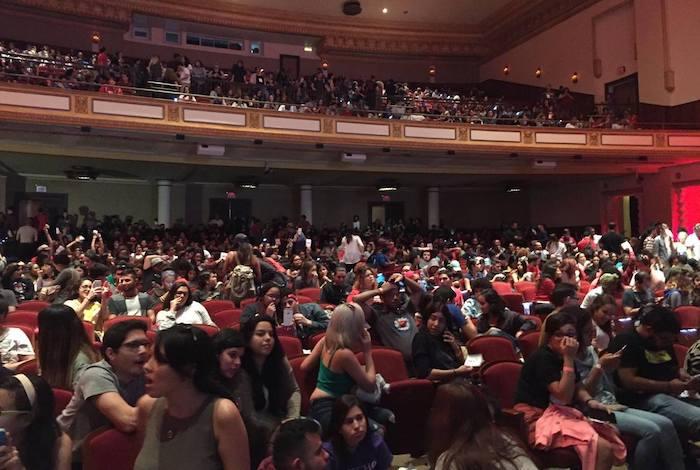 Asamblea general de estudiantes del Recinto de Río Piedras, celebrada el pasado miércoles. (Glorimar Velázquez / Diálogo)