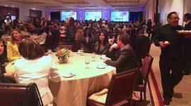 Salón principal durante el Caucus con el Gobierno, actividad de la Asociación de Industriales. (Joel Cintrón Arbasetti / CPI)