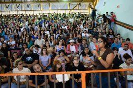 Asamblea de estudiantes UPR en Cayey Marcha estudiantes UPR Cayey (Ricardo Alcaraz / Diálogo)