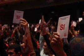 En la asamblea participó más del 22% del estudiantado. (Ronald Ávila Claudio / Diálogo)