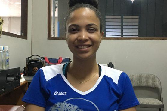 Anghelisa Luna, estudiante de la UPR Carolina. (Andrea Santiago/ Diálogo)