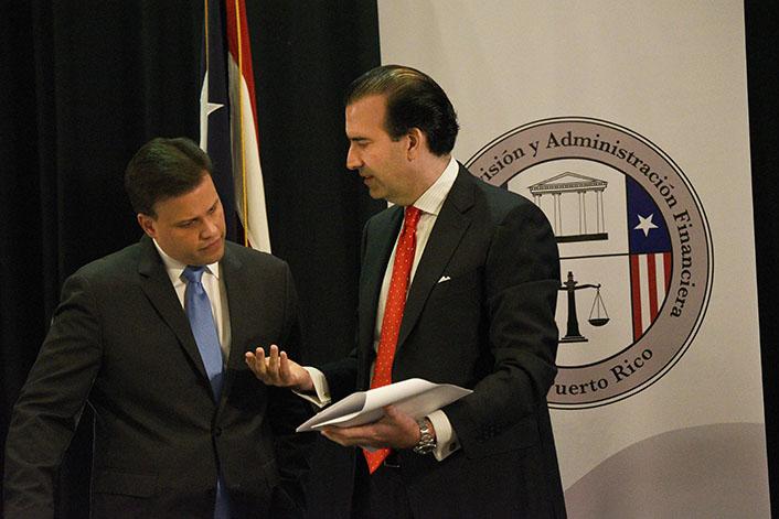 Jose B. Carrion III con Elias Sanchez