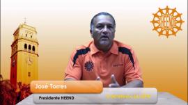 """Tanto en el vídeo circulado por las redes sociales como por vía telefónica, Torres lanzó un duro llamado al profesorado para que """"se pongan en la disposición de defender a la Universidad"""". (youtube.com)"""