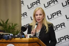 Nivia Fernández, presidenta interina de la UPR. (Ronald Ávila / Diálogo)