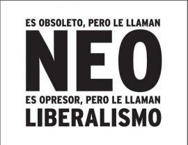 Neoliberalismo. (ecoportal)