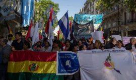 manifestacion inmigrantes en argentina ips 2