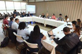 El grueso de la reunión entre alumnos y administradores universitarios fue el borrador del plan fiscal de la UPR. (Suministrada)