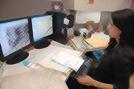 Empleo en oficina. (Ricardo Alcaraz/ Diálogo)