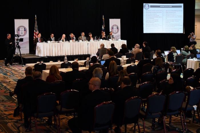 18 de noviembre de 2016 – Primera reunión de la Junta de Control Fiscal en Puerto Rico, la tercera reunión overall. Hotel El Conquistador.