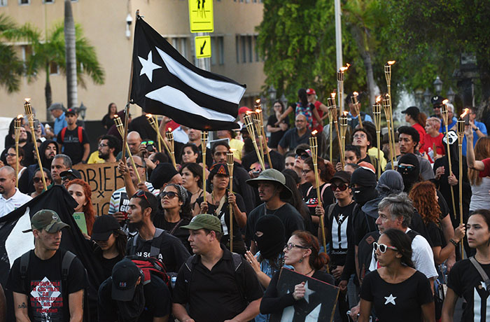 Manifestación Capitolio, contra mensaje de Estado (Ricardo Alcaraz / Diálogo)