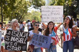 Paro en UPRRP. (Ricardo Alcaraz/ Diálogo)