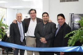 En la foto de izquierda a derecha- Dr. Michael Rubin, Dr. Mario Medina, Dr. Hernando Heidel y Dr. Edwin Vazquez