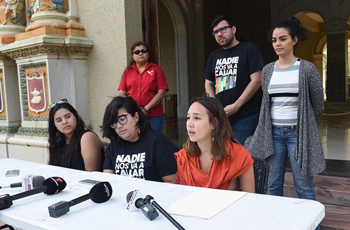 Desde la izquierda: Leslie Ruiz Santiago, Wilmarí De Jesús Álvarez y Verónica Figueroa Huertas. (Ricardo Alcaraz / Diálogo)