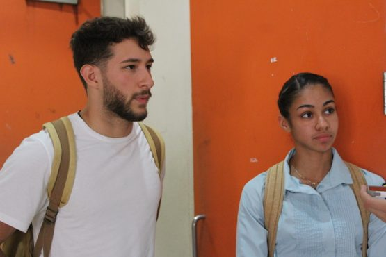 Atletas de la UPR Arecibo. (Ronald Ávila/ Diálogo)