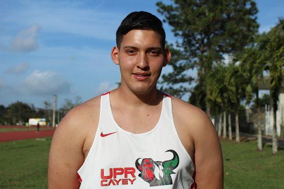 Alejandro Rivera, atleta UPR Cayey. (Osvaldo Cortés/ Diálogo)