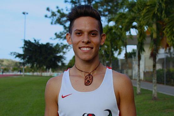 Christian Colón, atleta de UPR Cayey. (Osvaldo Cortés/ Diálogo)