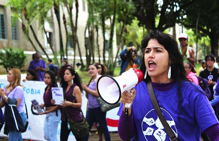 En el Recinto de Río Piedras, las mujeres componen un 53% del estudiantado. (Luis de Jesús / Diálogo)