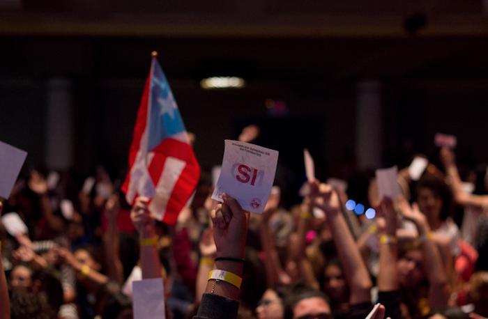 asamblea UPRRP. (Carla Pérez/ Diálogo)