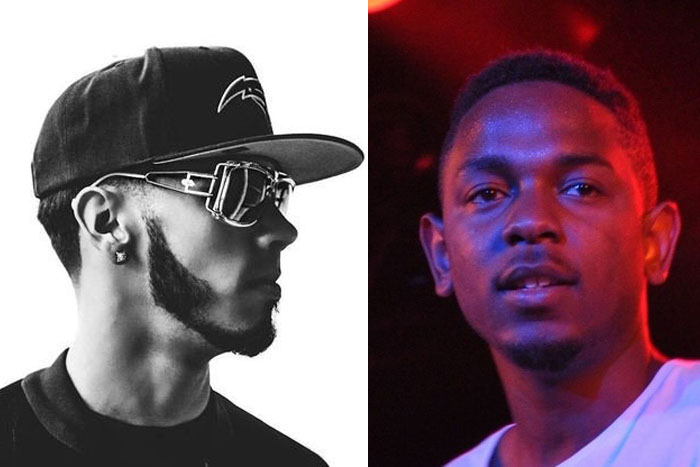 Anuel AA y Kendrick Lamar