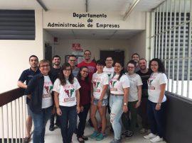 Estudiantes de administración de empresas de UPR Cayey. (Suministrada)