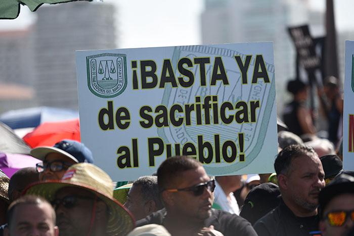 manifestaciones crisis fiscal pr
