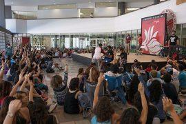 Pleno estudiantil (Foto por: Pablo Pantoja)