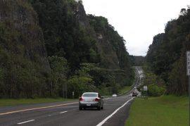 Carretera zona del karso