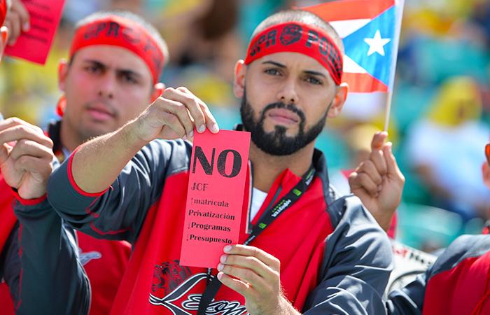 En la foto, Roberto Colón de la UPR en Ponce, atleta que participó en los 800 metros. (Luis M. De Jesús / Diálogo)