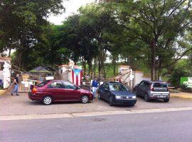 Huelga en UPR Utuado. (Suministrada)
