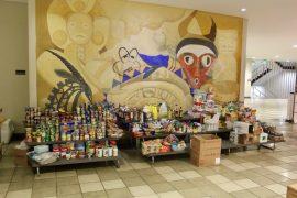 Alimentos en el Centro de Estudiantes de la UPRRP.