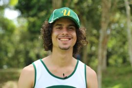 Jonathan,  atleta de UPR Utuado. (Viviana Tirado/ Diálogo)