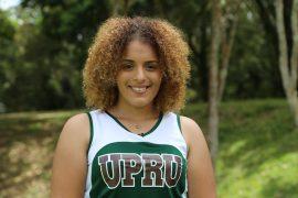 Priscilla, atleta de UPR Utuado. (Viviana Tirado/ Diálogo)