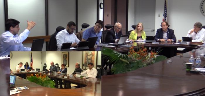 Miembros de la Junta de Gobierno de la UPR. (Archivo)