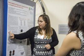 Sherley Collado Justiniano, estudiante del Departamento de Biología del RUM (Suministrada)