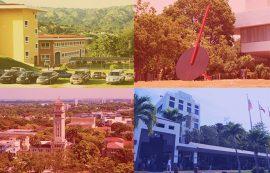 UPR, Utuado, Ponce, Río Piedras y Carolina. (Montaje por Luis De Jesús)