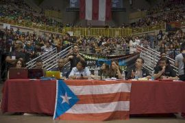 Asamblea Nacional en el Coliseo Roberto Clemente. (Pablo Pantoja)
