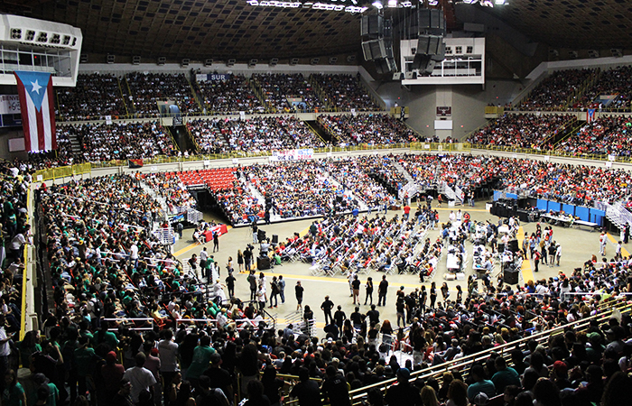 Asamblea Nacional en el Coliseo Roberto Clemente. (Luis De Jesús/ Diálogo)