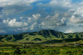Montañas entre Salinas y Coamo desde expreso 52. (Ricardo Alcaraz/Diálogo)