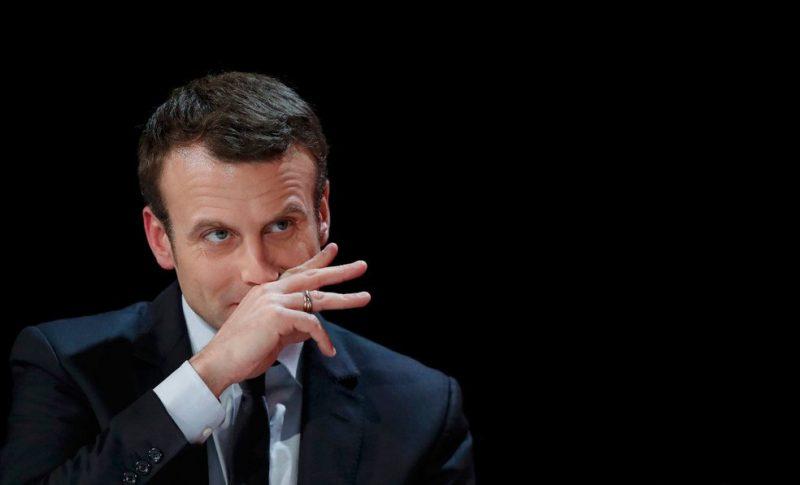Emmanuel Macron. (Viasual Hunt)