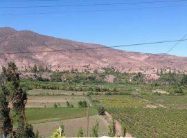 Pequeños agricultores de Samo Alto, en el norte de Chile, se ven obligaos a compartir la escasa agua del río Hurtado con grandes agroexportadores, que se benefician de una represa construida aguas abajo. En el país, el recurso es un bien privado, entregado a perpetuidad a los concesionarios. Crédito: Orlando Milesi/IPS