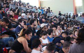 Asamblea de la UPR en Bayamón. (Luis De Jesús/ Diálogo)