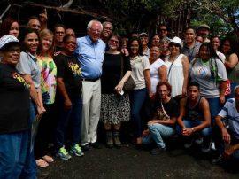 Bernie en el Caño Martín Peña. (Suministrada)