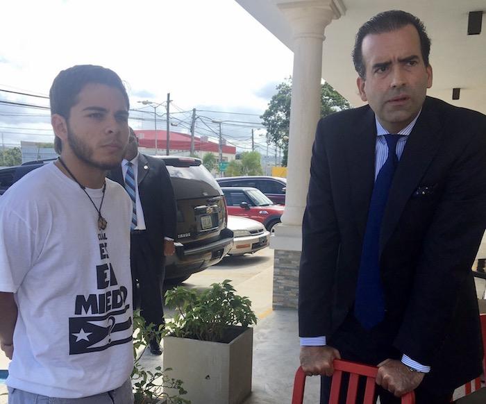 Carlos Arroyo junto a José Carrión III. (Twitter)