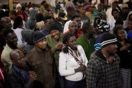 Al menos 7.800 ciudadanos haitianos están varados en México desde hace meses, al fracasar en su intento de llegar a Estados Unidos. Crédito: Andalusia Knoll Soloff/EnelCamino